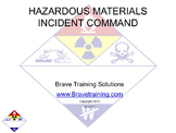 HAZMAT INCIDENT COMMAND (hazardous material)