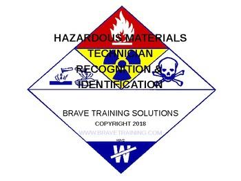 HAZMAT TECHNICIAN RECOGNITION & IDENTIFICATION (HAZARDOUS MATERIALS)