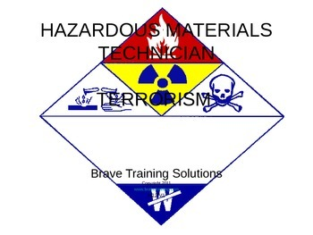 HAZMAT TECHNICIAN TERRORISM (HAZARDOUS MATERIALS)