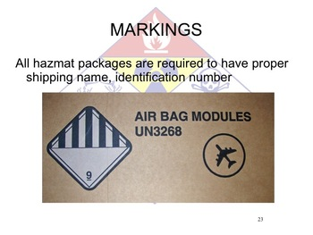 HAZMAT TECHNICIAN US REGULATIONS (Hazardous Material)