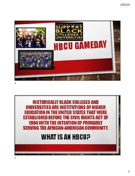 HBCU Bingo Guide