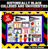 HBCU Class Decor Set Historically Black College and University