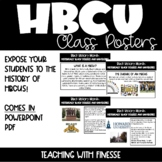 HBCU Class Posters (Growing Resource)