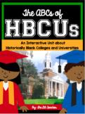 Historically Black College & University HBCU Reading Comprehension