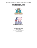 HCJCA Physical Education PK-8 : Meet Your Teacher Packet Guide