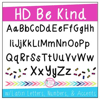 HD Fonts Set #1