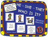 HE - SHE - THEY - WHO IS IT? Pronoun Practice