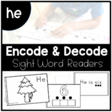 HE - Sight Word Decode and Encode Book