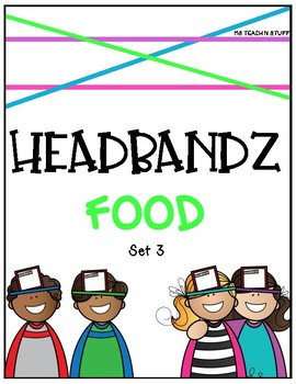 HEADBANDZ-FOODIE EDITION (Set 3)
