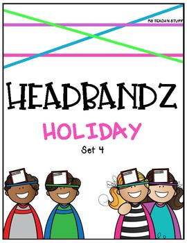 HEADBANDZ-HOLIDAY EDITION (Set 4)