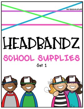 HEADBANDZ-SCHOOL SUPPLIES EDITION (Set 1)