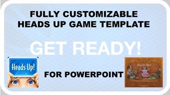 HEADS UP GAME TEMPLATE FOR POWERPOINT!