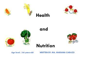 HEALTH & NUTRITION UNIT.Lesson Plan 1