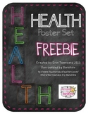 HEALTH Poster Set