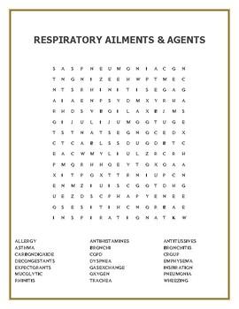 HEALTH/RESPIRATORY AILMENTS & AGENTS