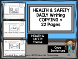 HEALTH & SAFETY - Daily Writing - Copy Sentences
