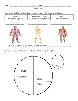 HEALTH TEST ASSESSMENT