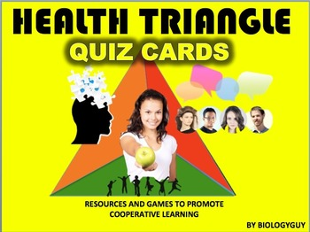 HEALTH TRIANGLE, Game Cards.