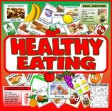 HEALTHY EATING TEACHING RESOURCES KS1 KS2 KS3 FOOD TECHNOLOGY DISPLAY