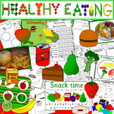 HEALTHY EATING thematic unit- food topic PLUS Very Hungry Caterpillar