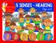 HEARING - FIVE SENSES CLIP ART