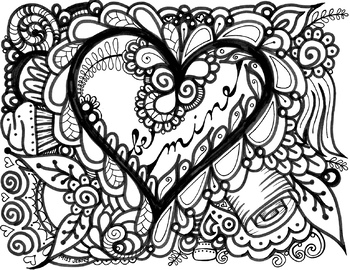 Coloring Pages Valentines Worksheets Teaching Resources Tpt