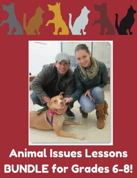 HEART Gr. 6-8 Animal Issues Lessons BUNDLE!