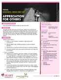 HEART Humane Education: Appreciation for Others (Grades K-2)