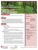 HEART Humane Education: How to Spot Greenwashing (Gr. 6-8)