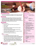 HEART Humane Education: Kindness Campaign (Grades K-2)