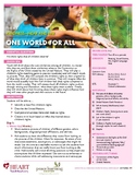 HEART Humane Education: One World For All (Grades K-2)