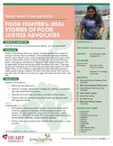 HEART Humane Education: Real Stories of Food Justice Advocates (Gr. 6-8)