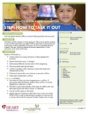 HEART Humane Education: STEP: How to Talk It Out (Grades K-2)