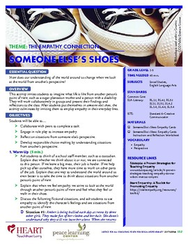 HEART Humane Education: Someone Else's Shoes (Grades 3-5)