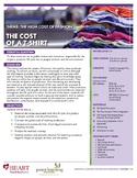 HEART Humane Education: The Cost of a T-Shirt (Gr. 6-8)