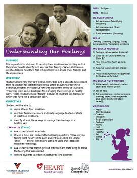 HEART Humane Education: Understanding Our Feelings