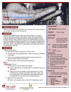 HEART Humane Education: Water is Life (Grades 3-5)