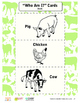 HEART (Humane Education): Lesson 4 - Moo, Oink, Cluck (Grades K-2)