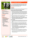 HEART Humane Education: Friends on the Farm (Grades 3-5 Lesson 5)