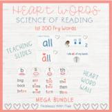 HEART WORD | SIGHTWORDS | Growing MEGA BUNDLE $ave