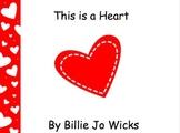 HEART easy reader book