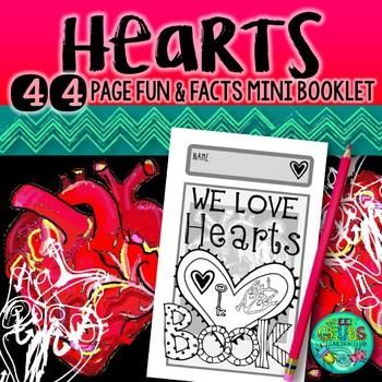 HEARTS! {A Valentine's booklet with a twist}