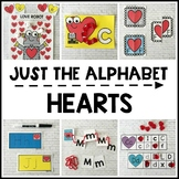 HEARTS Alphabet Activities for Valentine's Day (Preschool,
