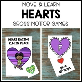 HEARTS ♥️ Move & Learn Gross Motor Games - Preschool, Pre-