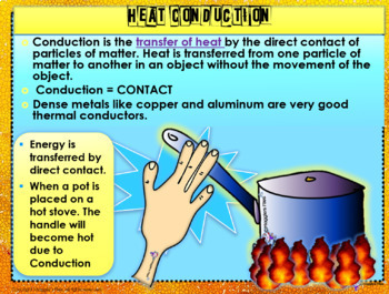 CONVECTION, CONDUCTION AND RADIATION- POWER POINT AND NOTES