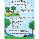 HEAT WAVES AND WATER SPRAYS Gr. 3-4