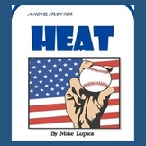 HEAT, by Mike Lupica: A PDF and TpT Digital Novel Study