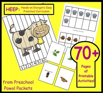 HEEP: Hands-on Energetic Easy Preschool Curriculum