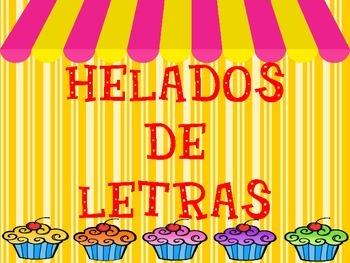 HELADOS DE LETRAS