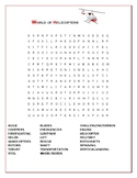 HELICOPTERS: A FUN VOCABULARY WORD SEARCH